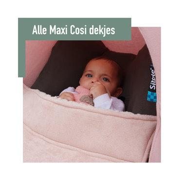 Als een voetenzak nog wat te warm is, maar het is te koud om zo op pad te gaan met je kleintje, is het Maxi Cosi dekje ideaal.  Het Maxi Cosi dekje van Sibble is speciaal ontworpen voor de Maxi Cosi Cabrio autostoeltje (en Cabrio-fix) maar past ook prima op andere type autostoeltjes.