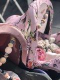 maxi cosi hoes universeel bloemen vlinders roze