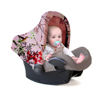 Maxi Cosi zonnekap Asian Cherry Pink