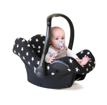 Maxi Cosi hoes Zwart Witte ster