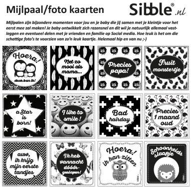 Sibble Mijlpaal/foto kaartjes