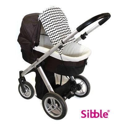 Kinderwagen beschermdoek SlimShady ZigZag