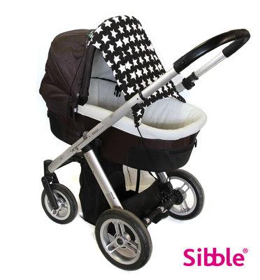 Kinderwagen beschermdoek SlimShady BlackStar