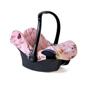 Asian Cherry pink maxi cosi hoes roze bloemen